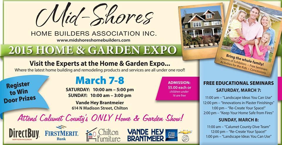 2015 Home Garden Show By Mid Shores Home Builder